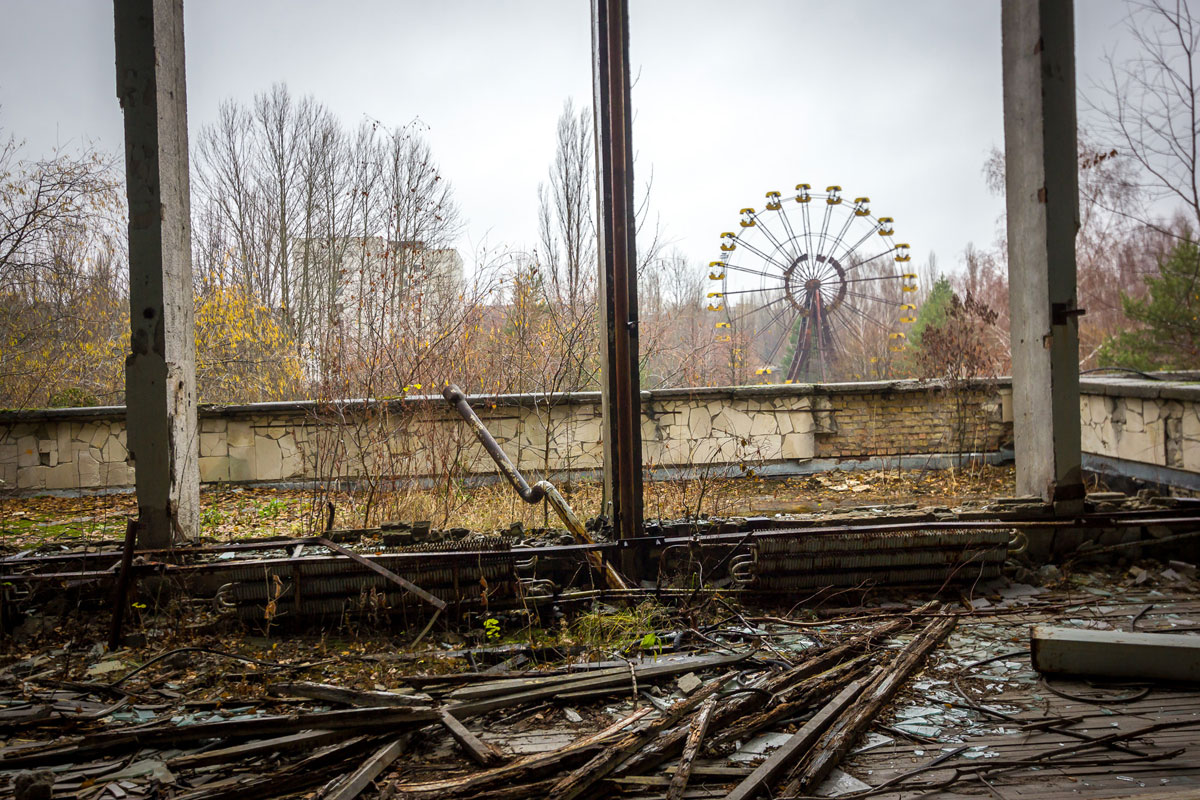Ferris Wheel in Chernobyl Ukraine