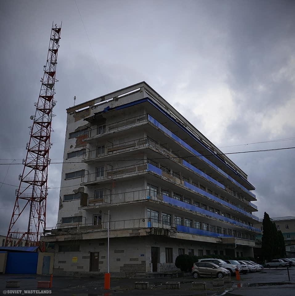 Soviet hotel South Ossetia